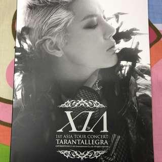 金俊秀 XIA 1st Asia tour concert 畫冊