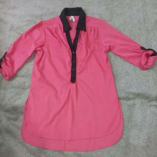 Truth Polo Blouse ,Small and med. Size can fit fro US.