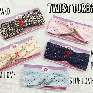 🌸 TWIST TURBAN HEADBAND 🌸