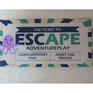 Tiket Ke Escape Adventureplay Penang (Dry Park Dan Water Park) Untuk Dijual