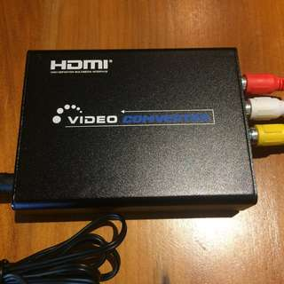 HDMI to S-Video or CVBS RCA AV Adaptor/converter