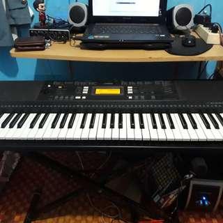 Keyboard yamaha psr e343 +stand+tas