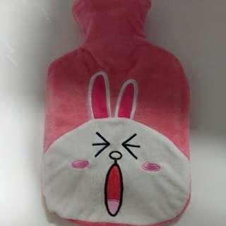 全新Line friends - Cony暖水袋
