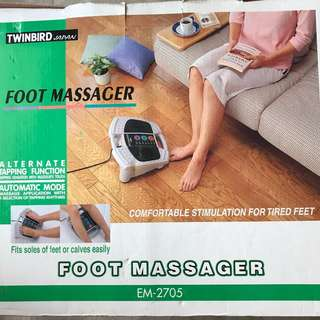 Foot messager
