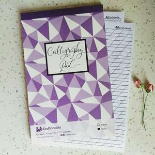 Calligraphy Pad (White)