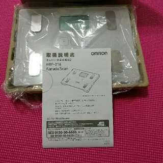 OMRON日本多功能電子磅