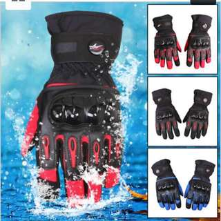 Waterproof Gloves pro-biker