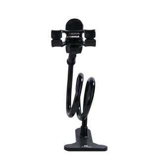 Remax Flexible Long Arm Lazy Phone Clamp Holder Mount Stand
