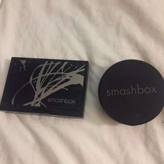 Smashbox eyeshadow and hydrating perfecting face powder only 30 both or 17 each