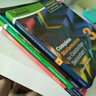 IGCSE Year 9 Checkpoint Textbooks—Biology,Chemistry,Geography,Mathematics