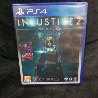 PS4 Injustice 2 Deluxe Edition