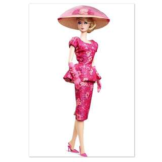 Barbie Fashion Model Collection Fashionably Floral