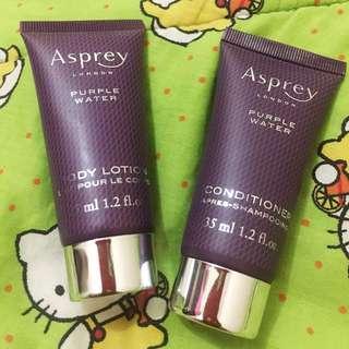 Asprey London purple (dari hotel Ritz Carlton)