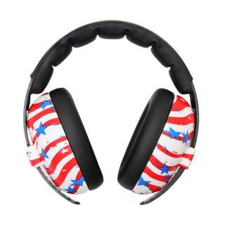 New Design for Baby Banz Infant Earmuff - Stars & Lines!