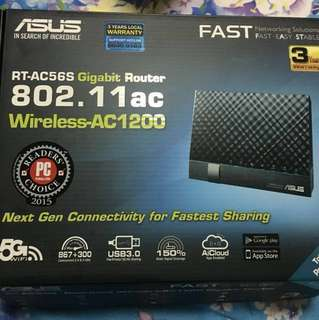 ASUS router & Huawei Optical Network Terminal