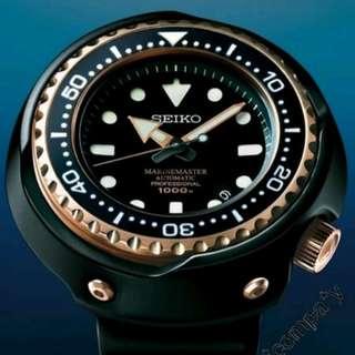 SBDX014 有門市保用 信心保證 精工 SEIKO PROSPEX 1000米 Tuna 玫瑰金吞 機械手錶 SBDX014G