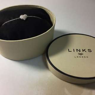 Links London Diamond Heart bracelet