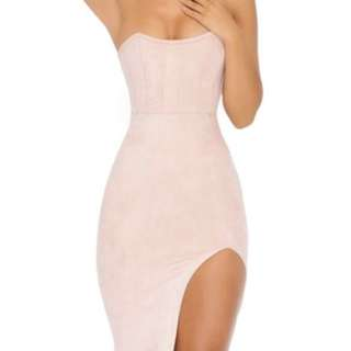 Oh Polly Dress with slit