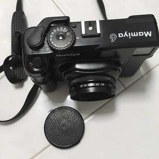 Mamiya 6 with 75mm lens