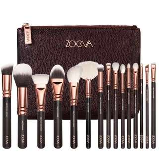 Zoeva Makeup brush Set 15pcs