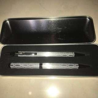 Calvin Klein 筆套裝 pen