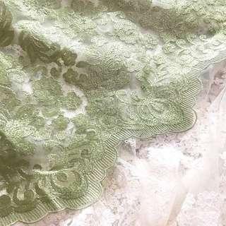 Floral Tile Prada ( Green )
