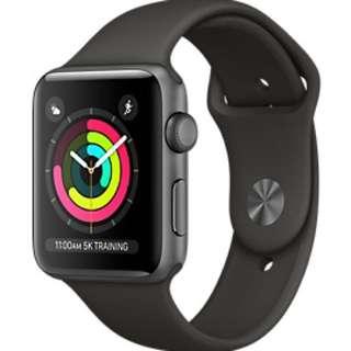 Apple Watch Series 3 黑色全身未開封