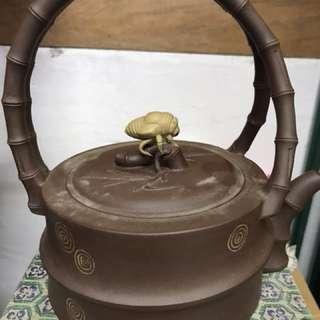 蟬紫砂茶壺