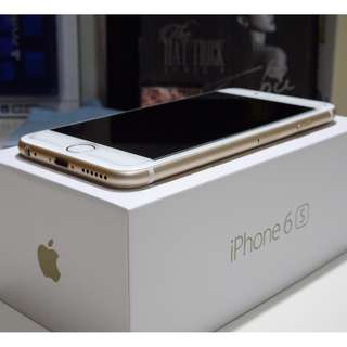 iPhone 6S 128GB Gold / iPhone6S 128G 金 (Ref:6SG-128)