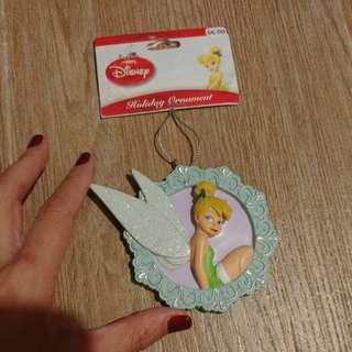 (極旱!)Tinkerbell聖誕陶瓷裝飾 迪士尼