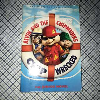 alvin and the chipmunks- chip wrecked