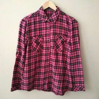 Flanel Shirt (kemeja flanel)
