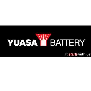 Yuasa Battery Delivery + Emergency service