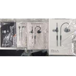 RHA headphone 耳機