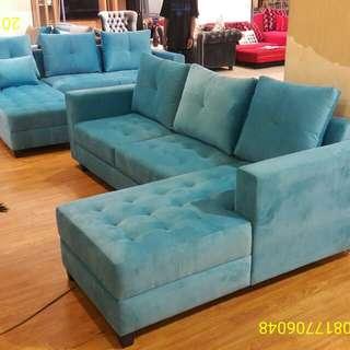Sofa minimalis L jumbo