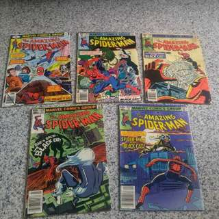 Amazing spiderman set