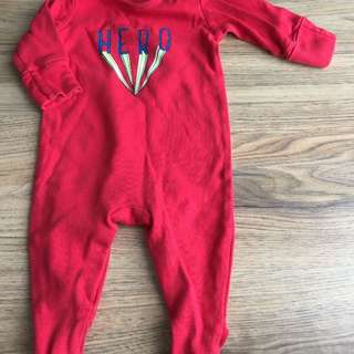NEXT Baby Sleepsuit Hero 6-9
