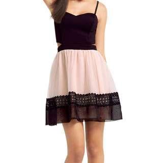 Ariana Grande Organza Prom Dress