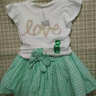 Baju anak perempuan carter's
