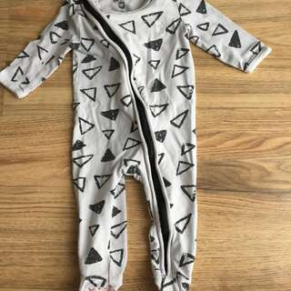 Cotton On Baby Sleepsuit 3-6