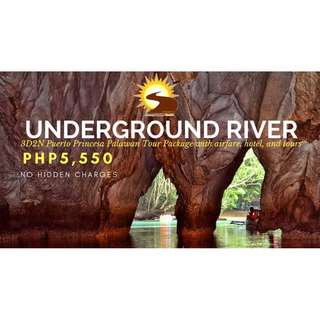 PROMO PUERTO PRINCESA PALAWAN TOUR PACKAGE ALL IN WITH AIRFARE