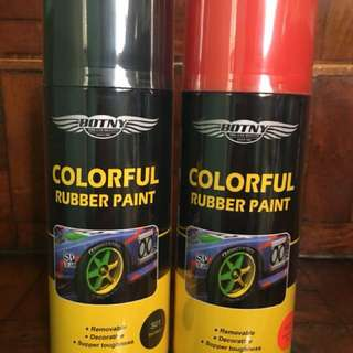 Botny Plasti dip rubber paint (peelable)