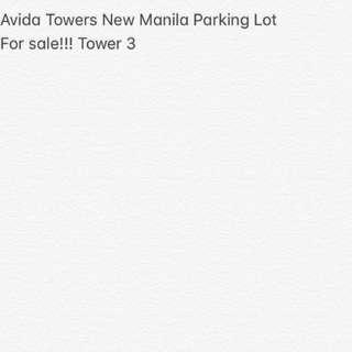 Avida Towers New Manila Parking Lot for Sale