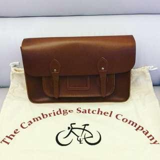 Cambridge Satchel 啡色