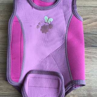 Mothercare baby thermal swimsuit 0-6