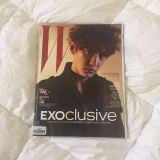 W Korea Magazine Exoclusive (Chanyeol Cover)