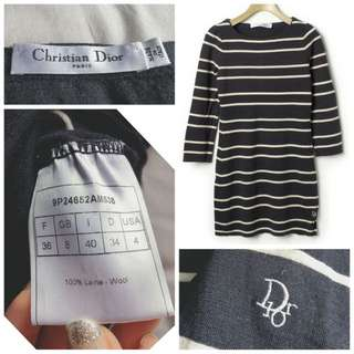 Christian Dior one piece dress 間條連身裙 Chanel Ysl Celine burberry