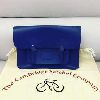 Cambridge Satchel 藍色