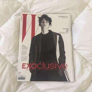W Korea Magazine (Baekhyun Cover)