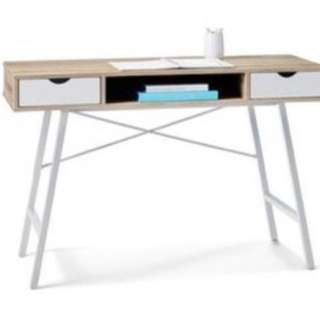 SLEEK 2 DRAWER DESK (BNIB)
